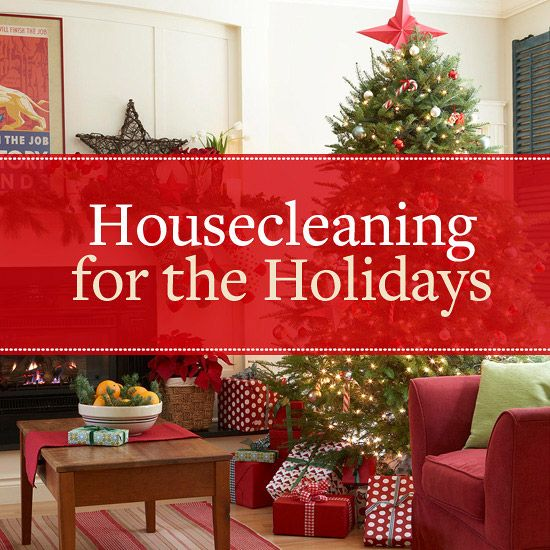 Holidays Housecleaning